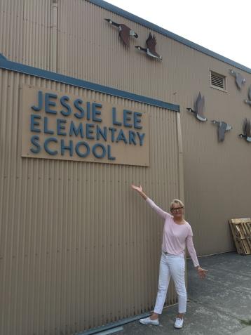 Ms. Vogstad is here!