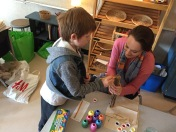 Students-Teachers working together.