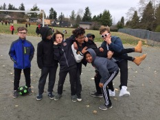Recess time is for fun connections.